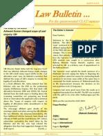 Abhyaas Law Bulletin - May 2013