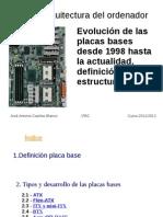 Desarrollo de Las Placas Bases