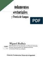 Fundamentos vectoriales y teoría de campos