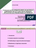 Modelisation Du Demntelement Materiaux Composites