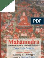 8300703 Mahamudra the Quintessence of Mind and Meditation