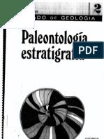 Tratado de Geologia - Paleontologia, Estratigrafia 2