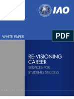 Re-visioning Career Services by IAO