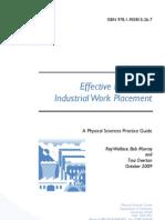 Effective Practice in Industrial Work Placement