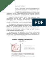Trabajo de Difusion Molecular - OU1