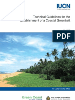 Sri Lanka Coastal Greenbelt Technical Guidelines