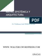 Matriz epistémica y arquitectura - Arq. Waldemar Cerrón