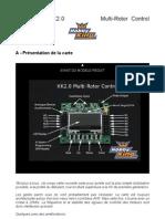 Notice Carte Controleur KK2 en Francais