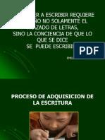 Adquisicion de La Lengua Escrita