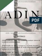 ADIN - Direito Constitucional