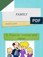 Family Vocab Begin