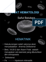 Farmakaologi Hematologi