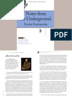 Dostoyevsky Notesfromtheunderground