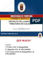 Presentacion Up Reforma Tributaria 2012