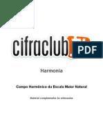 -Campo Harmonico Da Escala Maior Natural