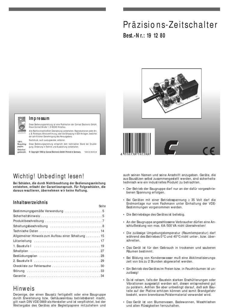 Wunderbar 12 Volt Relais Schaltplan 5 Polig Doppelt Bilder - Der ...