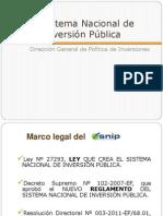 Semana 1 Normatividad Del SNIP Velsa Group