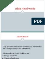 Diversion Head Works
