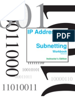 Instructor Sub Network Book v 2