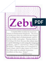 Zebu_The Hypn Language Card Game FlashCards