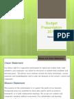 budget documentation5