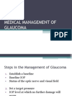 Medical Management of Glaucoma