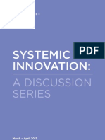 Systemic Innovation Discussion Series