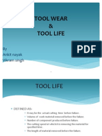 tool life & tool wear ppt by Ankit & Vikram