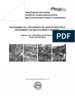 Agroforestería - Manual Diplomado - El Salvador 2010