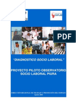 Diagnostico Socio Laboral Piura2003