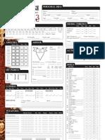 Eberron Character Sheet 1.3