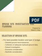 Bridge Site Investigation and Planning