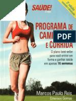 Livro Programa Corrida Reis Gomes Rosa 2009