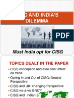 CISG and must India opt for it.pptx