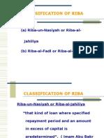 Classification of Riba.