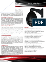 Long-Range,  Outdoor Speed Dome PTZ Camera, Laser IR Illumination, 36x/37x Optical Zoom - Ascendent Technology Group - NOVA 140M-37X