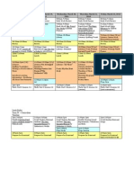 Sarah Buller Curriculum Draft - Timeline
