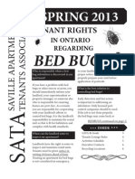 SATA Newsletter - Spring 2013