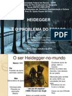 HEIDEGGER E O PROBLEMA DO ESPAÇO
