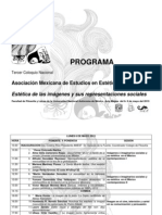 Programa Coloquio 3 Amest 2013