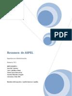 Resumen de ASPEL