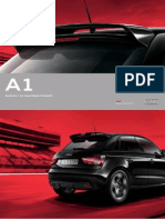 Audi A1 (type PQ25) Original Zubehor Catalogue 2013