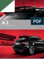 Audi A1 (type PQ25) Original Zubehor Catalogue 2013
