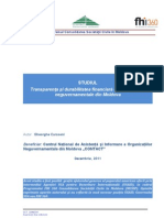 Raportul Studiu de Transparenta Si Durabilitatea ONG Final