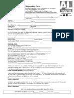 2013 AL Youth Camp-Registration Form