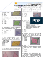 Unidad 7 Congruencia de Figuras Planas
