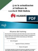 E353 Training Actualizacion SW