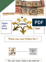 Agam Grp EthicsPPT