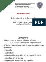 3. Demografía