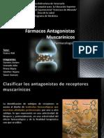 Fármacos Antagonistas Muscarínicos